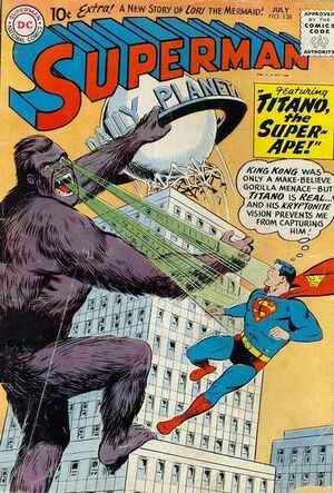 Cover for Superman #138 (1960)