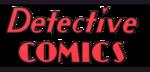 Detective Comics Vol 1 Golden Age Logo