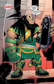 Kalibak Prime Earth 0001