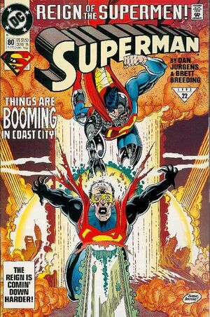 Cover for Superman #80 (1993)