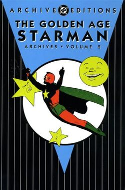 Cover for the The Golden Age Starman Archives Vol. 2 Trade Paperback