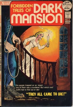 Cover for Forbidden Tales of Dark Mansion #5 (1972)