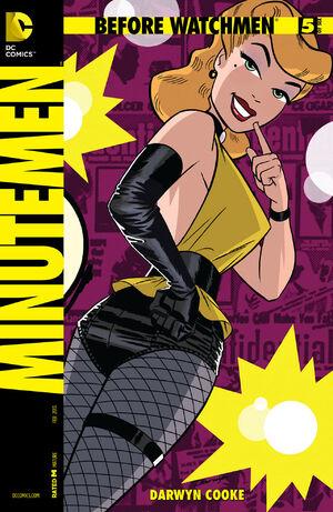 Cover for Before Watchmen: Minutemen #5 (2013)