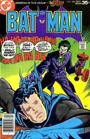 Cover for Batman #294 (1977)
