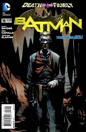 Cover for Batman #16 (2013)