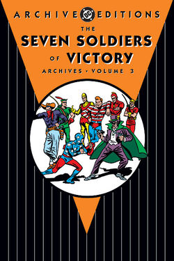 Cover for the The Seven Soldiers of Victory Archives Vol. 3 Trade Paperback