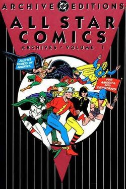 Cover for the All-Star Comics Archives Vol. 1 Trade Paperback