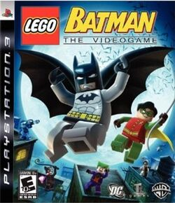 Lego Batman PS3 Game Box
