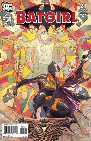 Cover for Batgirl #21 (2011)