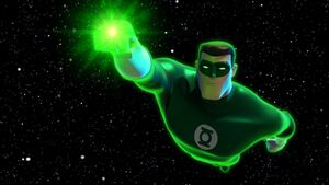 GLAS - Hal Jordan flying