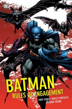 Cover for the Batman: Rules of Engagement Trade Paperback