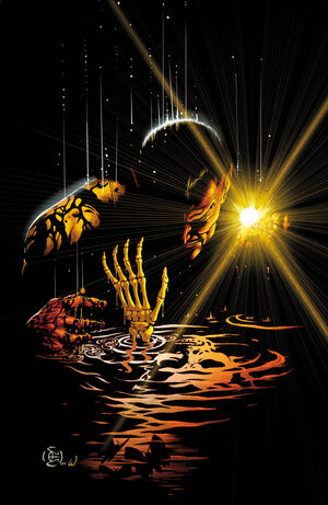 Sinestro is a master of intimidation and fear generation. Control through fear.