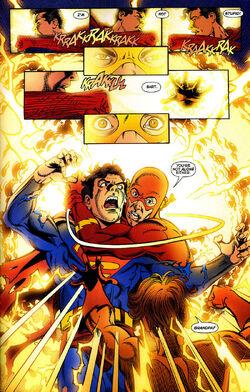 Infinite Crisis Vol 1 4 Kal-El (Earth-Prime) Speed Force