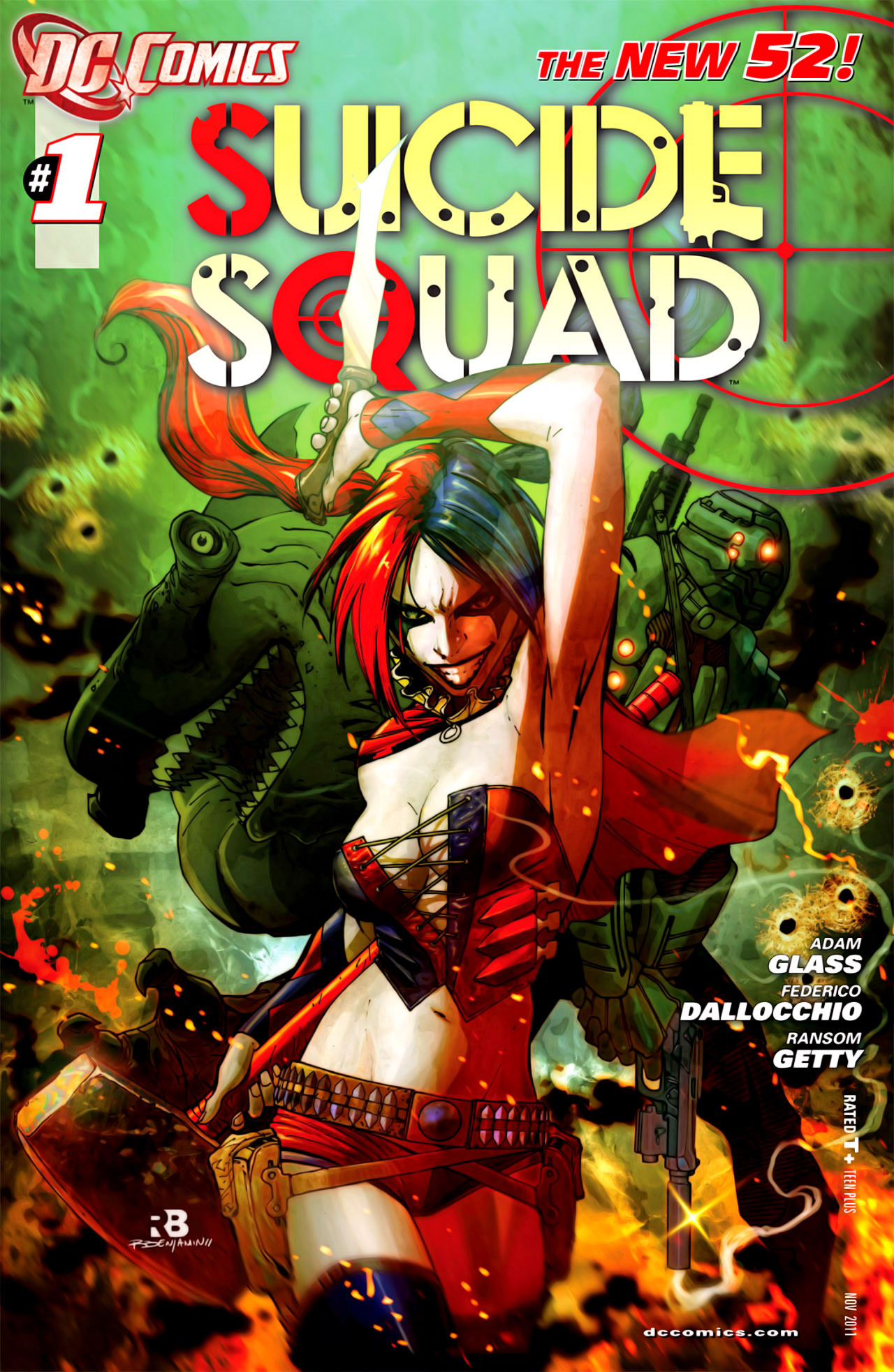 Image result for suicide squad new 52 issue 1