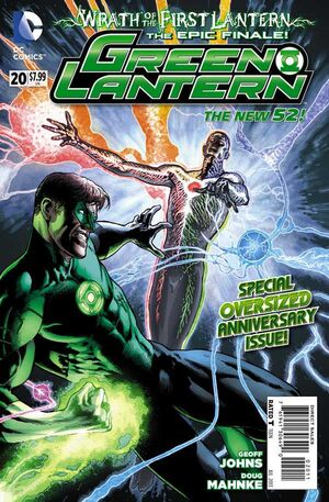 Cover for Green Lantern #20 (2013)