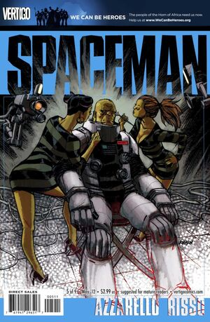 Cover for Spaceman #5 (2012)