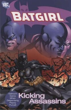 Cover for the Batgirl: Kicking Assassins Trade Paperback