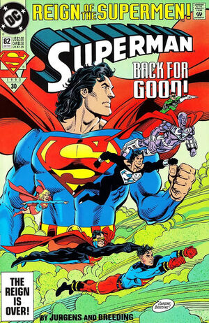 Cover for Superman #82 (1993)