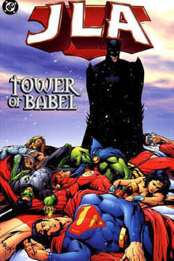Cover for the JLA: Tower of Babel Trade Paperback