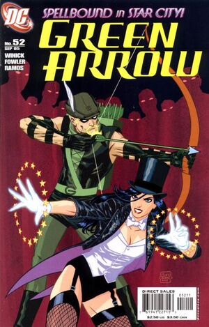 Cover for Green Arrow #52 (2005)