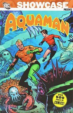 Cover for the Showcase Presents: Aquaman Vol. 1 Trade Paperback