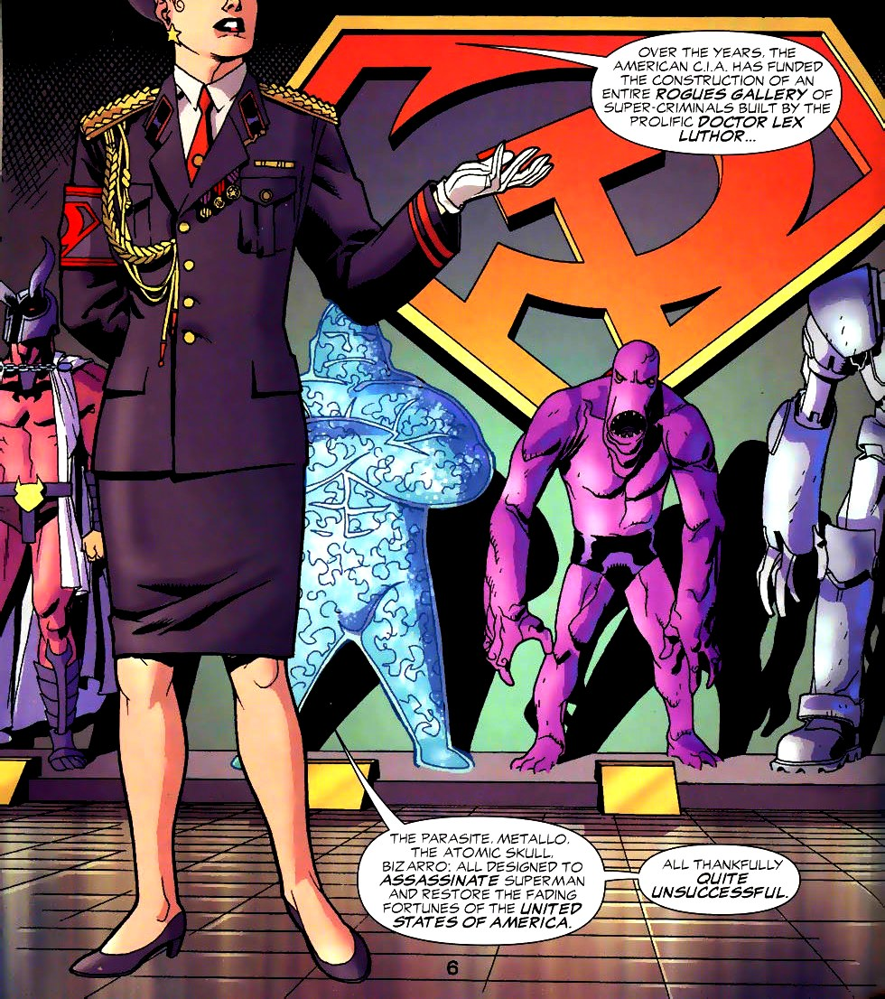 Image - Superman Museum Red Son 001.jpg   DC Database ... Red Son Justice League