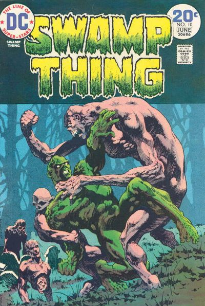 Image result for swamp thing #10