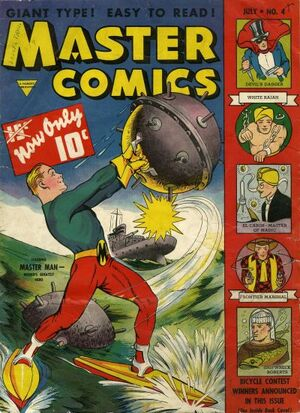 Cover for Master Comics #4 (1940)