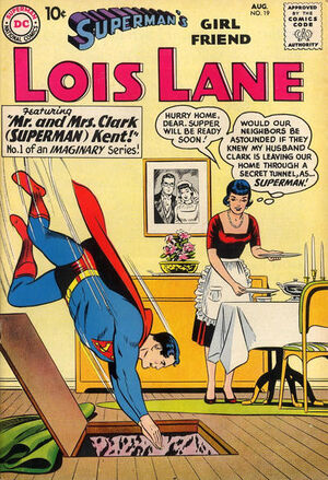 Cover for Superman's Girlfriend, Lois Lane #19 (1960)