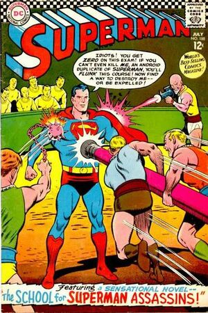 Cover for Superman #188 (1966)