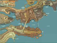 Bludhaven map