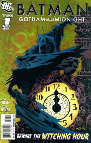 Cover for Batman: Gotham After Midnight #1 (2008)