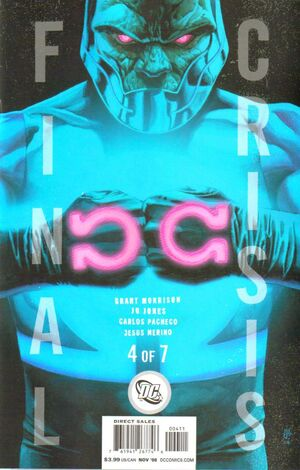 Cover for Final Crisis #4 (2008)