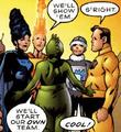 Legion of Substitute Heroes Superboy's Legion 001