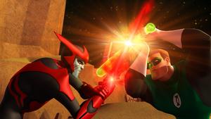 GLAS - Hal Jordan vs Razer