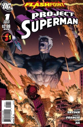 Flashpoint: Project Superman Vol 1 1 | DC Database ...