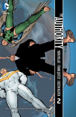 Cover for the The Authority Vol. 2 Trade Paperback
