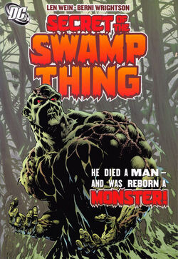 Cover for the Secret of the Swamp Thing Trade Paperback