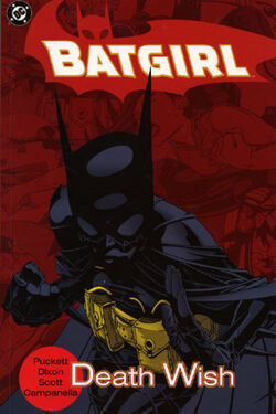 Cover for the Batgirl: Death Wish Trade Paperback