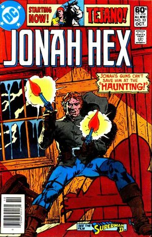 Cover for Jonah Hex #53 (1981)