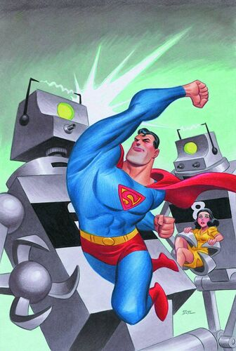 "Textless <a href=""/wiki/Bruce_Timm"" title=""Bruce Timm"">Timm</a> Variant"