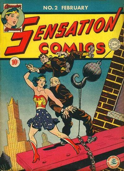 Image result for sensation comics #2
