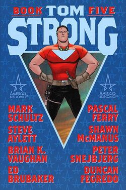 Cover for the Tom Strong: Book Five Trade Paperback