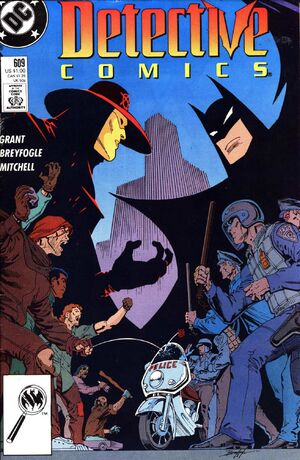 Cover for Detective Comics #609 (1989)