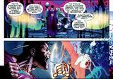 Superman destroys Darkseid's essence.