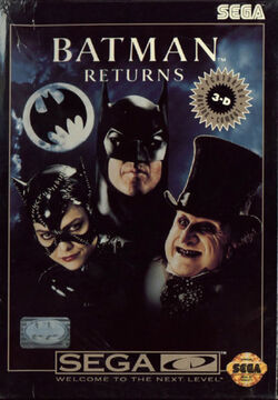Batman Returns Sega CD Box