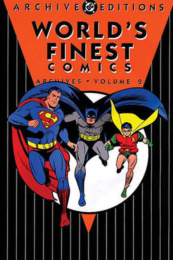 Cover for the World's Finest Comics Archives Vol 2 Trade Paperback