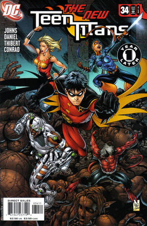 Cover for Teen Titans #34 (2006)