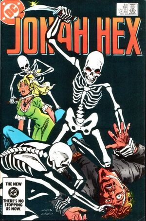 Cover for Jonah Hex #84 (1984)