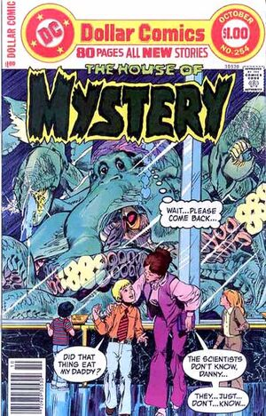 Cover for House of Mystery #254 (1977)